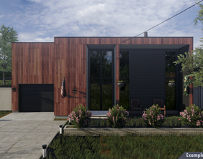 Second Plan Houses Pack 3D model