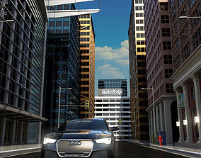 City Scene city street 3D model