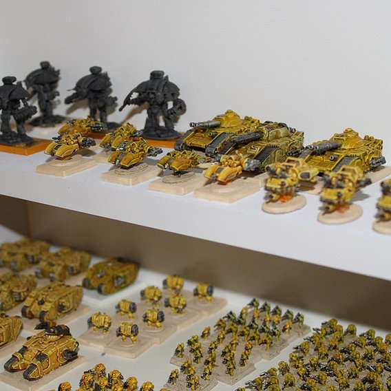 Imperial Fist Epic space marine Army