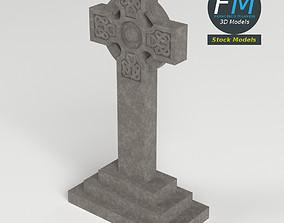 Celtic tombstone 3D
