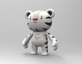 Pyeongchang olympic game 2018 mascot Soohorang character