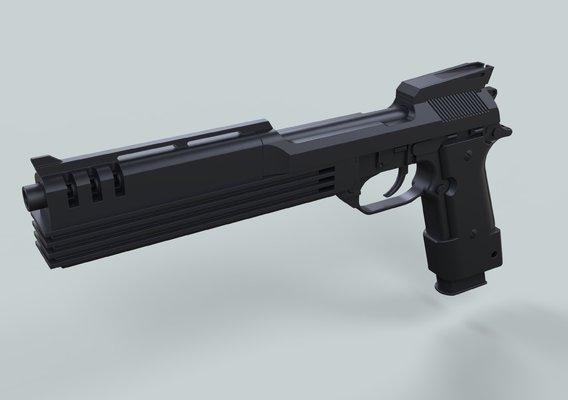 Auto-9 gun from RoboCop