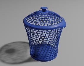 3D asset Laundry basket