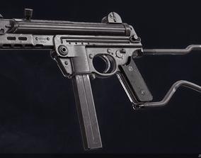 3D asset Walther MPK
