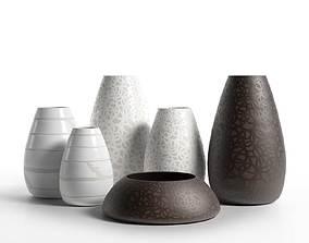 3D model Porcelain Vases 4