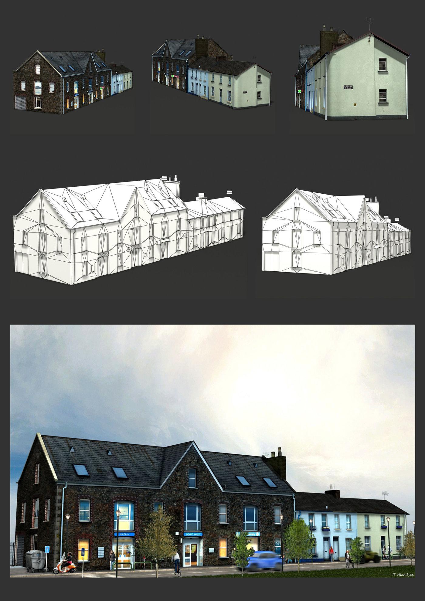 UK House block