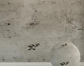 3D model Concrete wall Old concrete 89