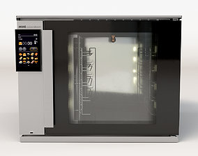 3D MIWE cube Steam convection oven