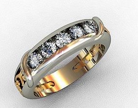 jewelwry Diamond Ring 3D print model