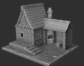 The medieval smithy 3D print model