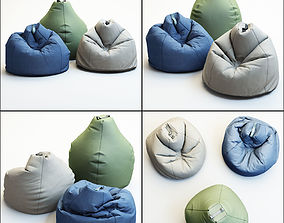 Brilliant Bean Bag 3D Models Cgtrader Frankydiablos Diy Chair Ideas Frankydiabloscom