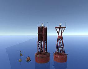 Buoy Set 3D model