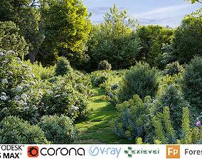 Mediterranean garden plants - Include GrowFX 3D model 2