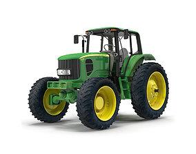 Tractor John Deere 7330 3D model