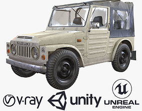 Suzuki Jimny SJ20 1977-80 3D asset