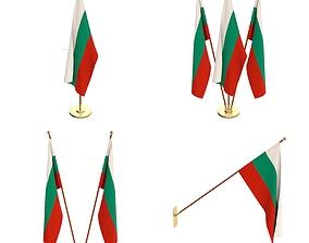 3D Bulgaria Flag Pack
