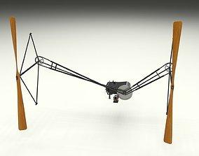 Wright Flyer Propulsion 3D model