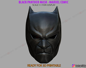 3D printable model Black Panther Mask - Helmet for 3