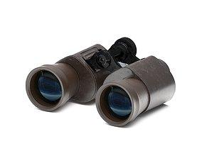 Binoculars 3D model optics