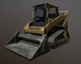Skid Loader 3D asset
