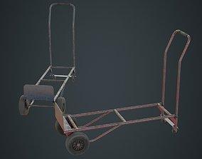 3D asset Hand Truck 3B