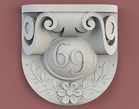 Number Plate 3D printable model