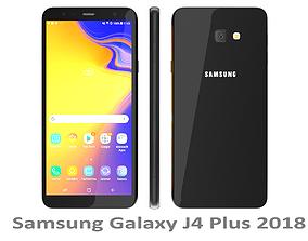 Samsung Galaxy J4 Plus 2018 Black 3D