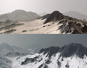3D Mountains terrain