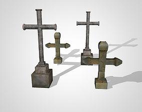 Crosses 3D model