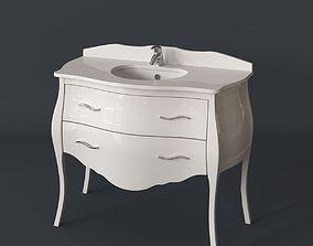3D Macral Paris 4 Bathroom Furniture