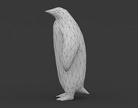 Low Poly Penquin 3D VR / AR ready