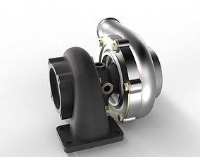 3D model Turbine Garrett 3076