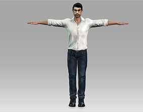Man Realistic Character with Animation 3D