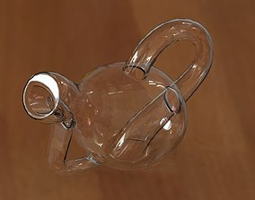 Pourable Klein Wine Bottle 3D model