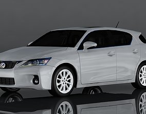 Lexus CT200h 3D asset