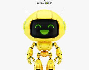 3D Lovely robot - companion VIII
