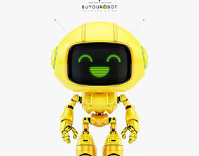 3D Lovely robot - companion VIII