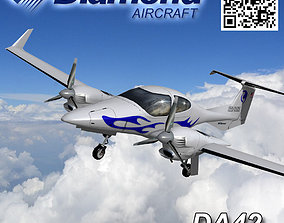 3D asset Diamond DA-42