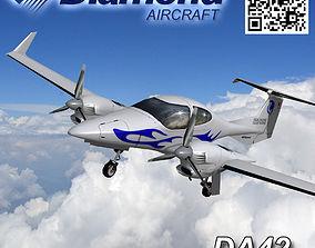 3D asset Diamond DA-42