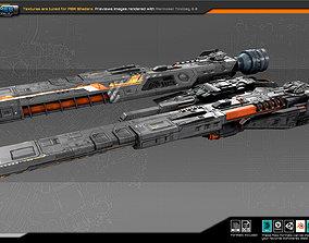 Federation Corvette GK5 3D model