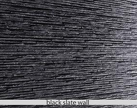 STONE SLATE BLACK 3D