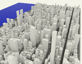 NYC Midtown Manhattan East 3D model