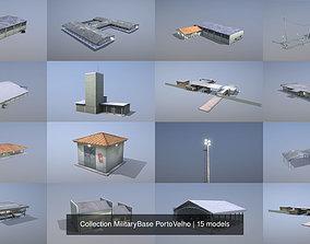 3D Collection MilitaryBase PortoVelho