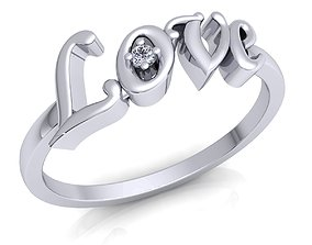 3D printable model Love Ring 12