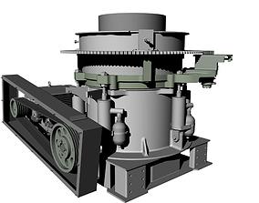 3D model Metso HP300