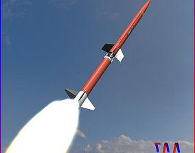 3D Aerobee 170 Rocket