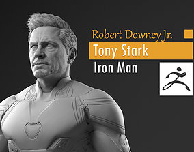 3D print model Robert Downey Jr - Tony Stark - Iron Man