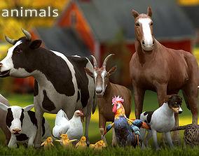3DRT - Domestic Animals animated