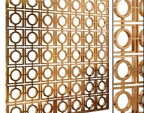 Decorative partition set 57 3D model