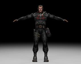 Stalker - Duty Soldier 03 3D model